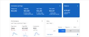 Small AdSense Commissions